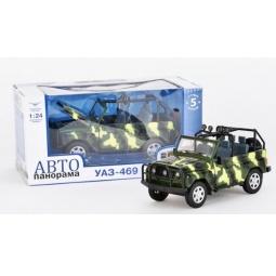 фото Машинка со светозвуковыми эффектами Автопанорама «УАЗ» J10037
