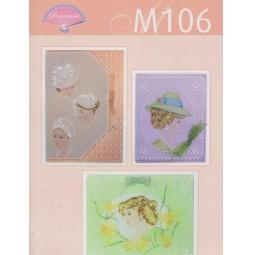 Купить Набор схем для парчмента Pergamano M106 Элегантные леди