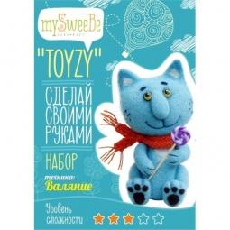 фото Набор для изготовления мягкой игрушки mySweeBe «Синий кот»