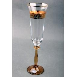 Купить Набор бокалов для шампанского Коралл 40600/Q7938/190 «Анжела»