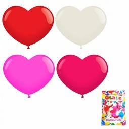 фото Набор воздушных шаров-сердечек Olala 26367