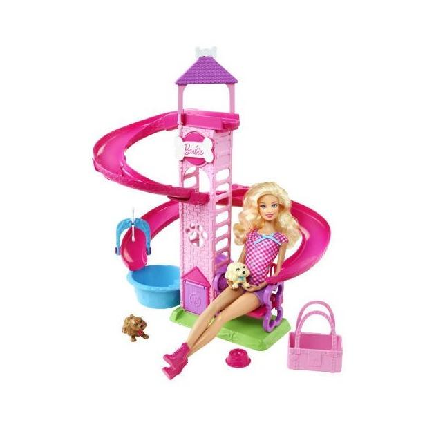 фото Кукла с аксессуарами Mattel Barbie «Прогулка в парке с питомцами»