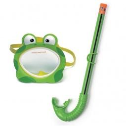 Купить Набор из маски и трубки Intex 55940 «Лягушка»