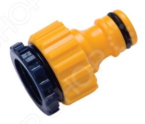 Штуцер резьбовой универсальный Brigadier 84915Коннекторы и штуцеры для соединения шлангов<br>Штуцер резьбовой универсальный Brigadier 84915 это замечательный штуцер, который подходит для соединения шлангов с соответствующими резьбовыми кранами 1 2 и 3 4 . Штуцер подключается через коннектор и предназначен для создания устойчивого к постоянному давлению шлангового соединения в водной системе.<br>