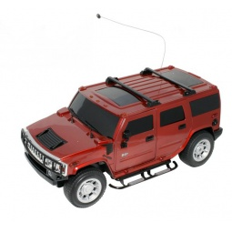 фото Машинка на радиоуправлении 1 Toy HUMMER H2. Цвет: красный