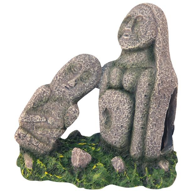 фото Истукан для аквариума DEZZIE «Мать и дитя»