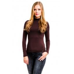 фото Водолазка Mondigo 264. Цвет: коричневый. Размер одежды: 44
