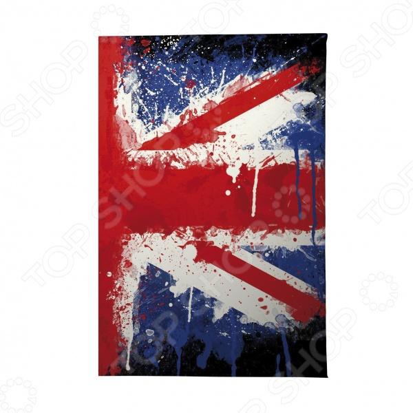 Визитница Mitya Veselkov «Британский флаг в краске» аксессуар