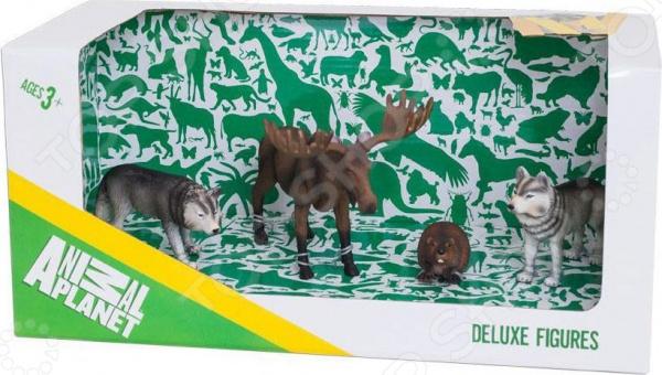 Набор фигурок зверей Animal Planet «Лесные животные 2» smoby игровой набор animal planet кошечка