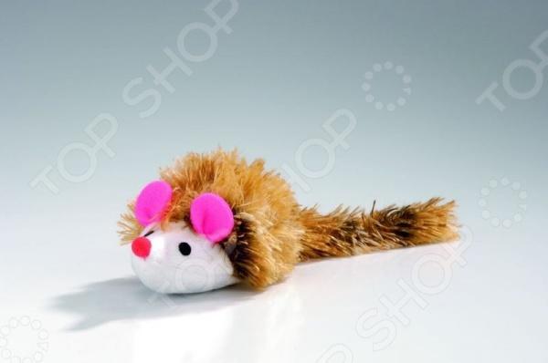 Игрушка для кошек Beeztees «Мышь с длинным ворсом»