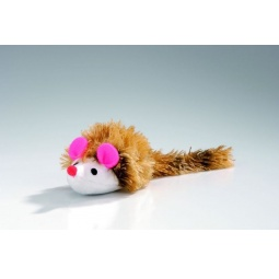 фото Игрушка для кошек Beeztees «Мышь с длинным ворсом»