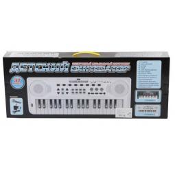 фото Музыкальный инструмент игрушечный Zhorya «Детский синтезатор с микрофоном»
