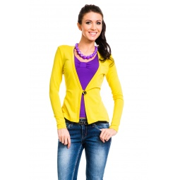 фото Жакет Mondigo 426. Цвет: желтый. Размер одежды: 46