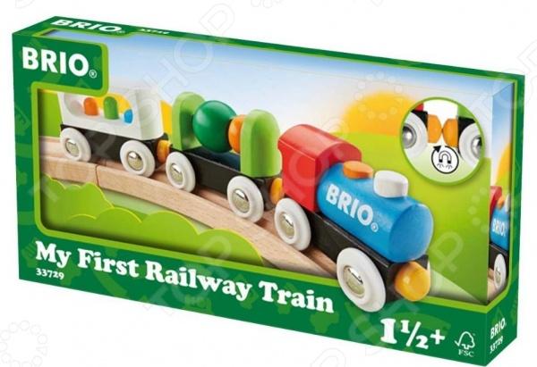 Поезд игрушечный Brio «Мой первый поезд» поезд м