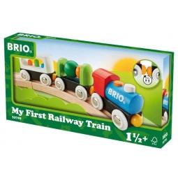 фото Поезд игрушечный Brio «Мой первый поезд»