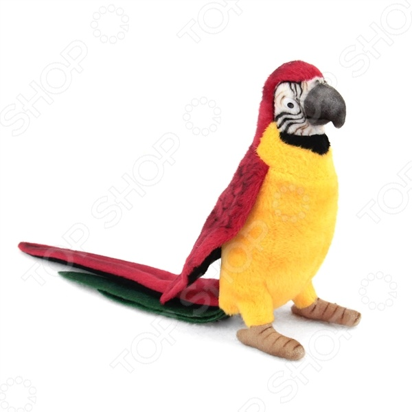 Zakazat.ru: Мягкая игрушка Hansa «Желтый попугай»