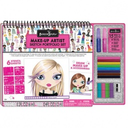 Купить Набор для творчества с портфолио Fashion Angels «Школа макияжа»