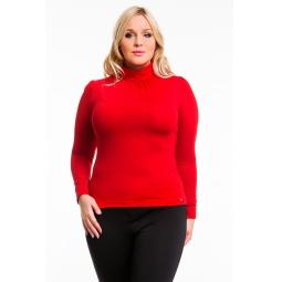 фото Водолазка Mondigo XL 146. Цвет: красный. Размер одежды: 48