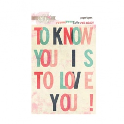 фото Карточки Glitz Design Love you madly