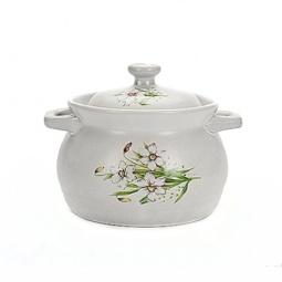 Купить Кастрюля Loraine «Цветы» MB-4981. В ассортименте