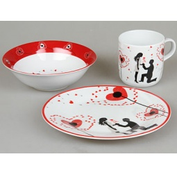 фото Набор посуды для детей Rosenberg 8764