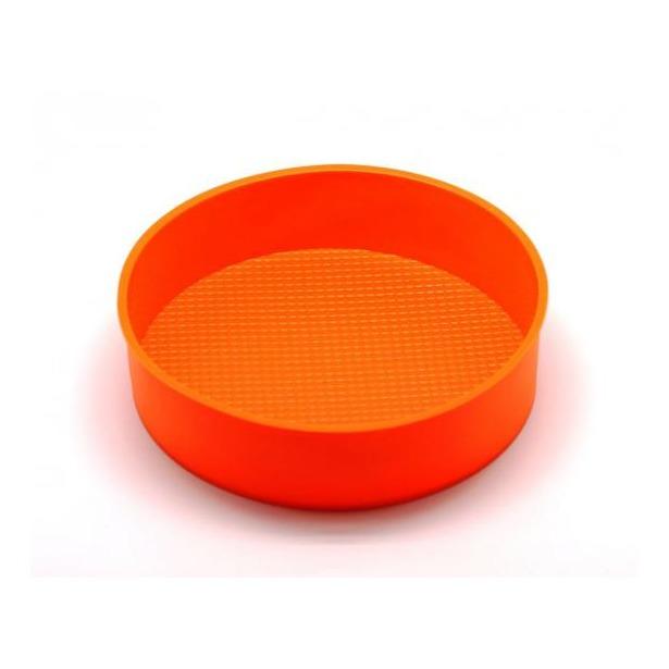 фото Форма для выпечки силиконовая Atlantis «Торт» SC-BK-013. Цвет: оранжевый