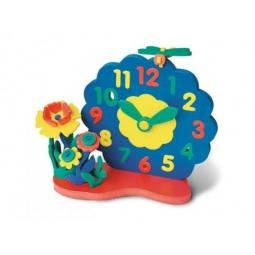 Купить Конструктор мягкий Флексика «Часы без механизма. Цветы»