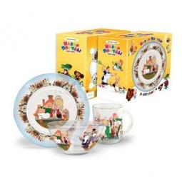 Купить Набор посудки подарочный Союзмультфильм «Малыш и Карлсон»