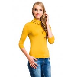 фото Водолазка Mondigo 211. Цвет: горчичный. Размер одежды: 46