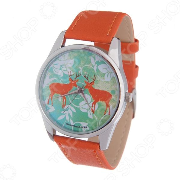Часы наручные Mitya Veselkov «Два оленя» Color часы наручные mitya veselkov райский сад color