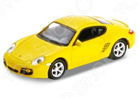 Модель автомобиля 1:87 Welly Porsche Cayman S. В ассортименте