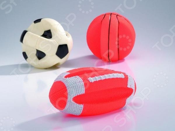Игрушка для собак Beeztees «Мяч спортивный». В ассортименте трикси игрушка для собак щенок 8 см латекс цвет в ассортименте
