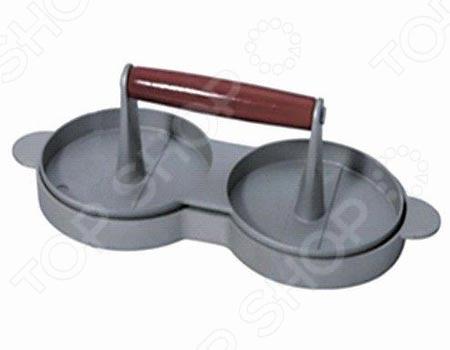 Котлетница Irit IRNP-16Принадлежности для заготовок<br>Котлетница Irit IRNP-16 поможет сформировать приемлемую форму котлетам из мяса, курицы, индюшки, рыбы, котлетки из печеночного фарша и крабового мяса. Используется при производстве популярных сэндвичей, гамбургеров и подобных блюд. После успешного формирования её нужно поместить во фритюрницу для жарки. Форма сделана из алюминия, а ручка из дерева.<br>