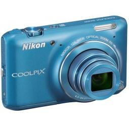 фото Фотокамера цифровая Nikon CoolPix S6400. Цвет: синий