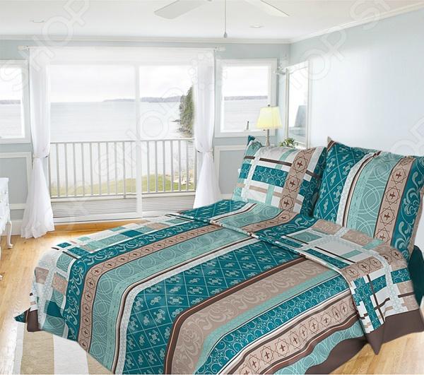 Комплект постельного белья Олеся «Летний аккорд». 1,5-спальный