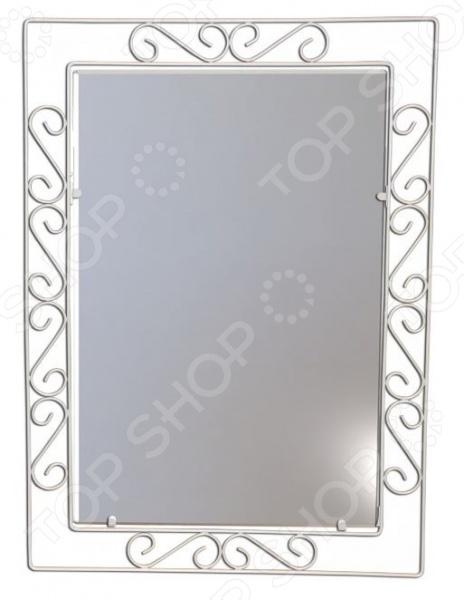 Зеркало настенное Sheffilton Грация 628 это сочетание непревзойденного качества и стильного классического дизайна. Оно отлично впишется в интерьер гостиной комнаты или спальни, придаст ему оригинальности, элегантности и завершенности. Каркас зеркала кованый; выполнен из металлического прутка диаметром 5 мм и покрыт специальным составом, придающим стойкость к механическим воздействиям. Зеркало достаточно большое 60 см в длину , что по достоинству оценят модницы.