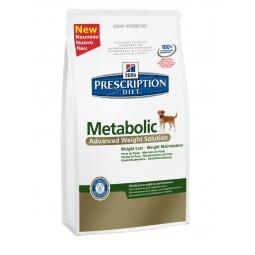 фото Корм сухой диетический для собак Hill's Prescription Diet Canine Metabolic. Вес упаковки: 1,5 кг