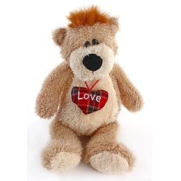 фото Мягкая игрушка со звуком Fluffy Family «Медведь Умник»
