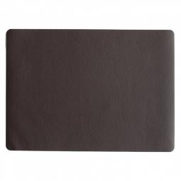 фото Салфетка под посуду Asa Selection Leder. Цвет: темно-коричневый