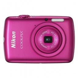 фото Фотокамера цифровая Nikon Coolpix S01. Цвет: розовый