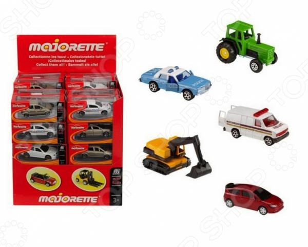 Машинка игрушечная Majorette 205279. В ассортименте машинки majorette городская техника 7 5 см в ассортименте