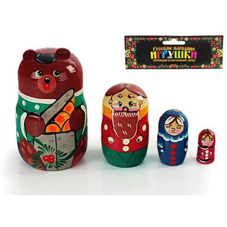 Купить Матрешка БЭМБИ «Маша и Медведь»