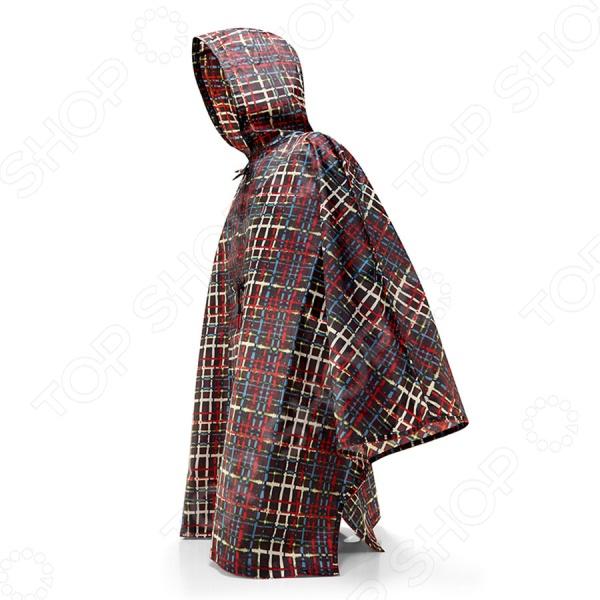 Дождевик Reisenthel Mini Maxi Wool отличная вещь для защиты одежды во время дождя. Вы всегда сможете взять с собой легкий и компактный дождевик, который надежно укроет вас дождя и ветра. Он легко убирается в компактный чехол, который без труда поместится даже в небольшой женской сумочке. Изделие выполнено из высококачественной водоотталкивающей ткани. Дождевик застегивается на кнопки под мышки, а широкий воротник лишь облегчит его одевание. Изделие подходит для всех размеров.