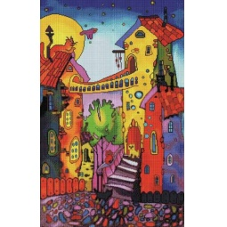 фото Набор для создания мозаичной картины Белоснежка «Цветные коты»