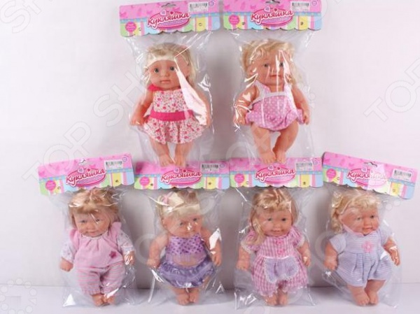 Кукла Кукляшка 1707281. В ассортиментеКуклы<br>Товар продается в ассортименте. Вид изделия при комплектации заказа зависит от товарного ассортимента на складе. Кукла Кукляшка 1707281 понравится любой девочке. Кукла это интересная и полезная игрушка для любой девочки. Такая игрушка оставляет простор для фантазий ребенка, дает возможность самостоятельно придумывать новые игры и с помощью таких игр адаптироваться в реальном мире. Эта кукла надолго станет настоящим другом вашему ребенку.<br>