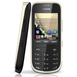 фото Мобильный телефон Nokia 202 Asha. Цвет: золотистый