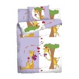 Купить Детский комплект постельного белья Мармелад «Жирафы»