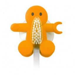 фото Держатель для зубной щетки Balvi Amico. Цвет: оранжевый