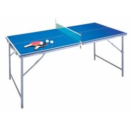 Купить Стол для настольного тенниса с сеткой детский и 2 ракетки ATEMI AT907B Indoor