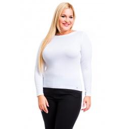 фото Кофта Mondigo XL 405. Цвет: белый. Размер одежды: 52